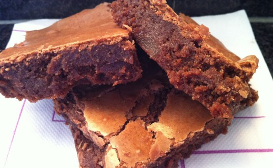 Brownie de Jengibre