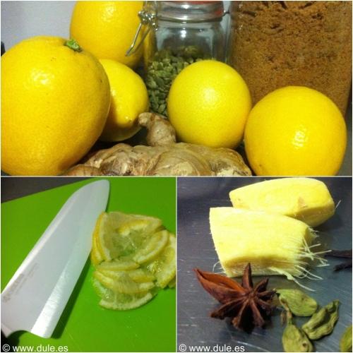 mermelada de limon con piel