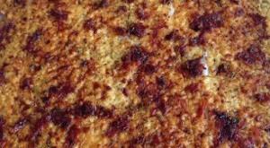 Crujiente de Queso con tomates secos y Orégano