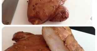 Pechugas de Pollo con salsa Hoisin