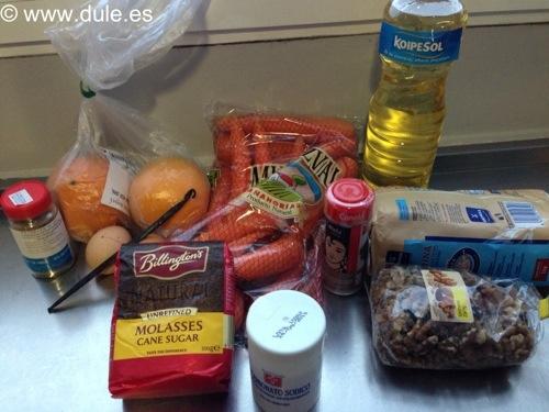 Ingredientes de la Tarta de zanahoria.jpg