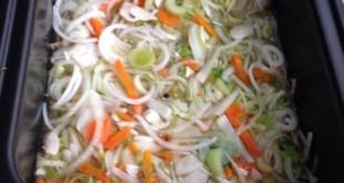 Fondo de Verduras Sous Vide