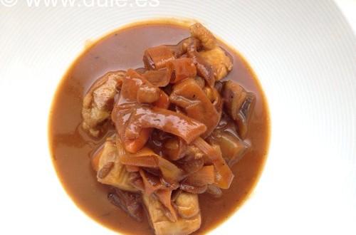 Curry de Verduras con Pollo