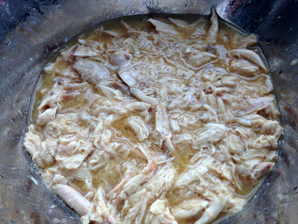 pollo asado con su jugo